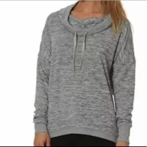 Gerry Long Sleeve Cowl Neck Gray Sweater Sz XL